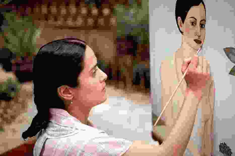"Kadr z filmu ""Frida"""