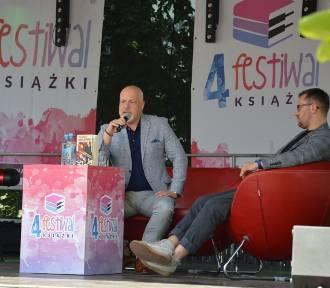Marek Krajewski był gościem opolskiego 4. Festiwalu Książki