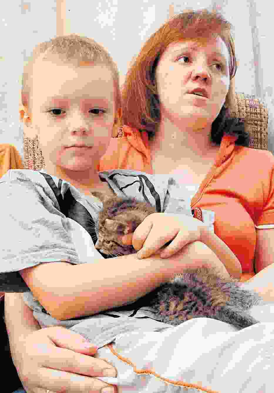 - Nawet nie opatrzono Michasia, nie podano mu leków - opowiada mama chłopca