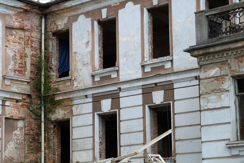 Budynek należy do szpitala im