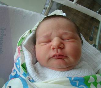 Witamy dzieciaczki, które urodziły się w szpitalu w Oświęcimiu