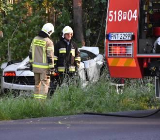 Znamy szczegóły wypadku Lamborghini Gallardo i Forda [ZDJĘCIA]