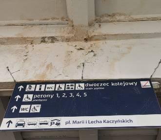 Cywilizacja kończy się na peronie 4. Dalej jest obraz nędzy