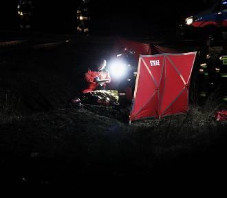 Śmiertelny wypadek motocyklisty na trasie Legnica-Złotoryja [ZDJĘCIA]