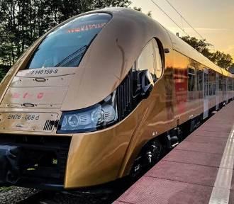 Zobaczcie. Złoty pociąg jeździ po Polsce. Brawa za świetny pomysł... dla sąsiadów!