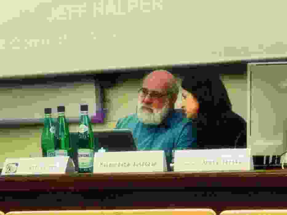 """An Israeli in Palestine"" - prelekcja Jeffa Halpera na UW"