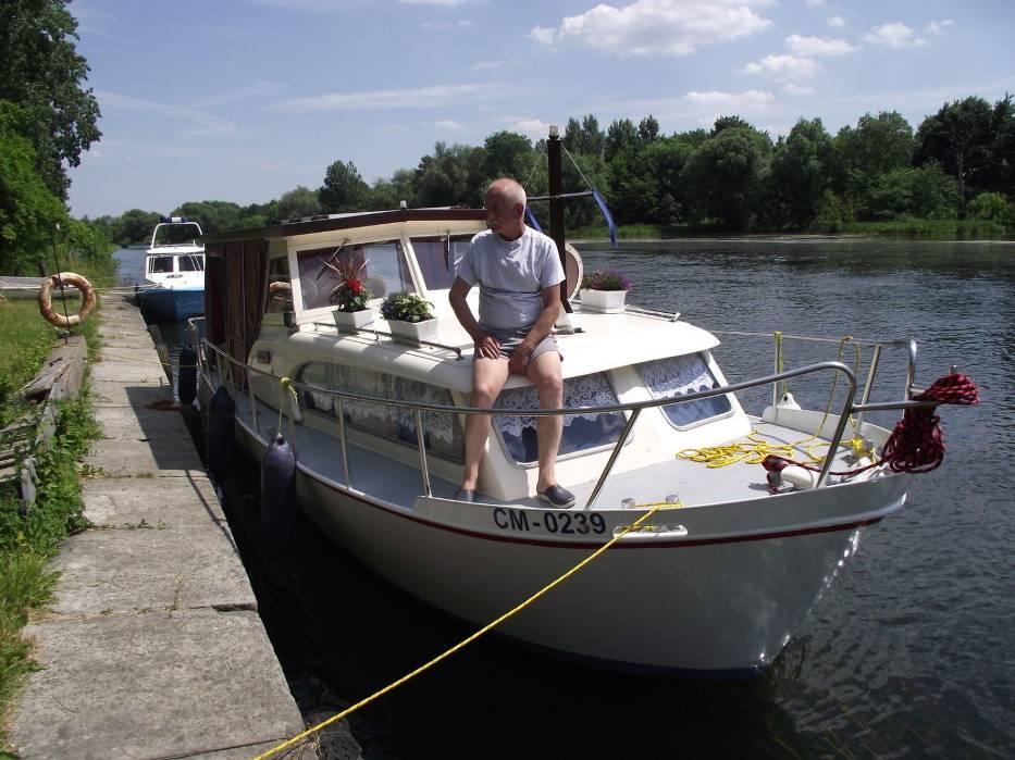 Moja łódka [/quot/]Dream[/quot/] przed rejsem 2011
