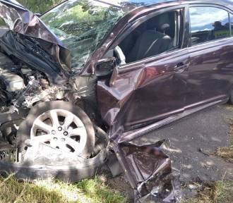 Wypadek na trasie Stare Polaszki - Orle. Jedna osoba trafiła do szpitala