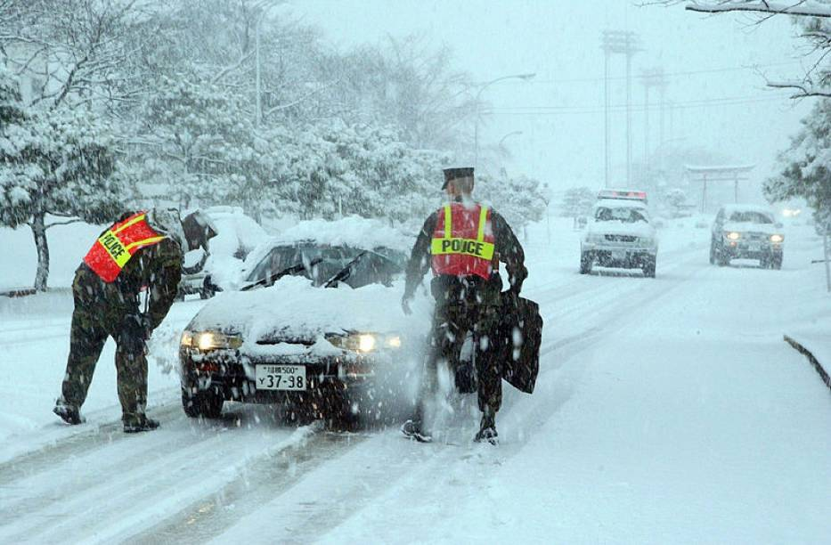 Zdaniem meteorologów główna śnieżyca osłabła, ale wciąż mogą występować intensywne opady śniegu
