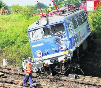 10. rocznica katastrofy kolejowej w Babach ARCHIWALNE ZDJĘCIA