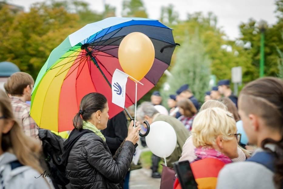 Kaliszanie na marszu równości w Koninie