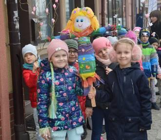 Przedszkolaki z Promyka powitały wiosnę w Głogowie