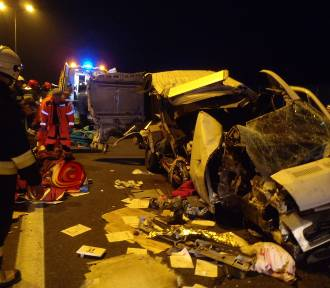 Wypadek na autostradzie. Nie żyje młody mężczyzna