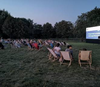 Kino na trawie w Parku Lotników. Widzowie nie zawiedli
