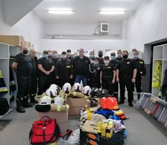 Nowy sprzęt dla strażaków ochotników z gminy Międzybórz