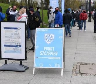 Kujawsko-Pomorskie. W majówkę wykonaliśmy najwięcej szczepień w Polsce