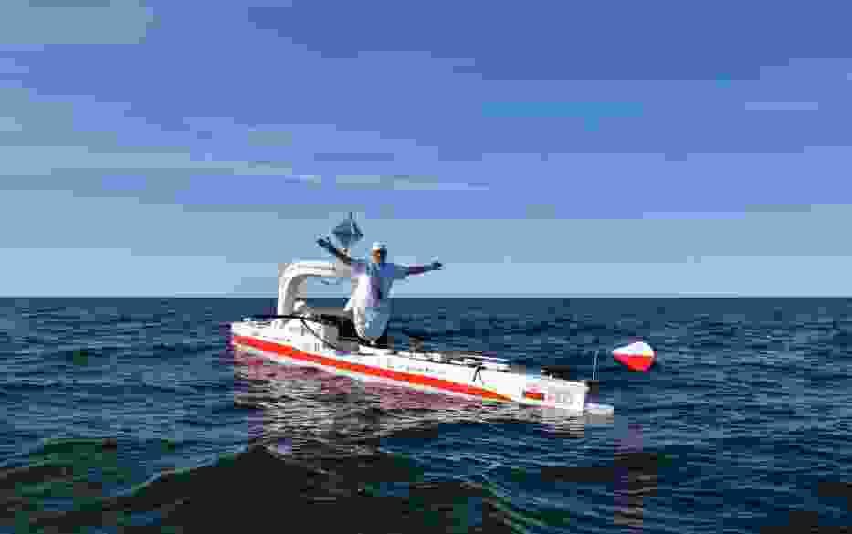 Aleksander Doba walczy z Oceanem Atlantyckim. Zobaczcie zdjęcia z wyprawy [GALERIA]