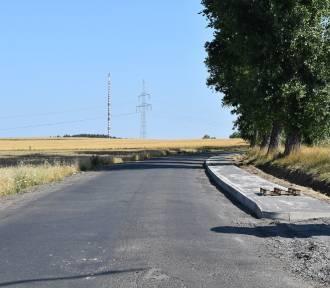 Trwa drugi etap przebudowy drogi z Siekierczyna do Nowej Karczmy