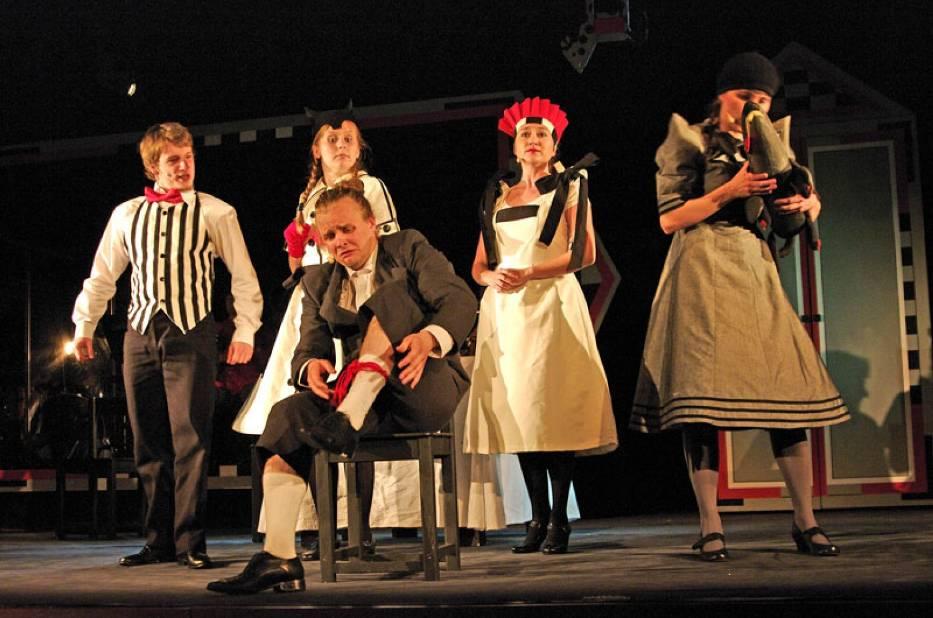 Złota Różdżka na scenie Teatru Arlekin