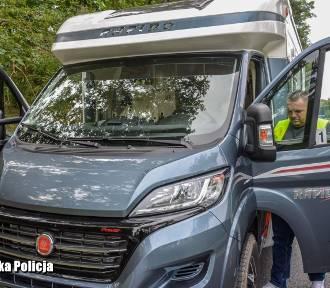 Skradziony kamper odzyskany przez policjantów z Krosna Odrzańskiego
