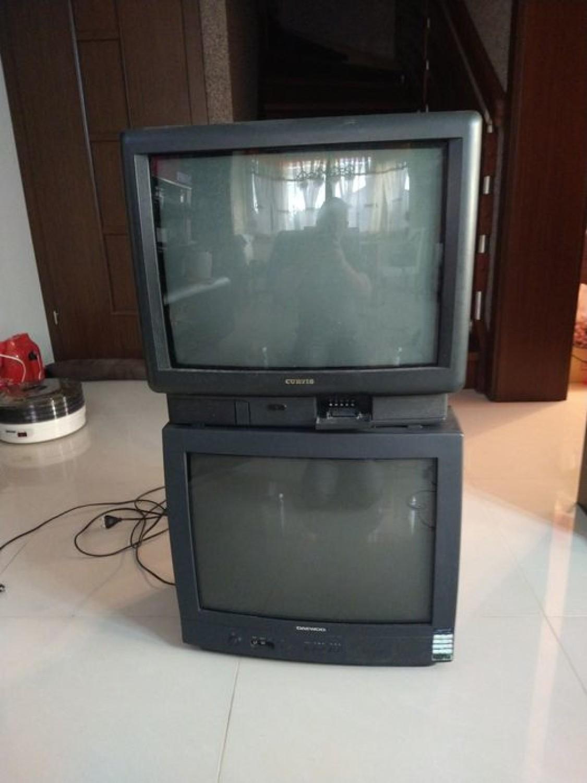 Dwa telewizory