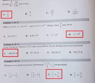 Matura 2018 Matematyka - klucz odpowiedzi i rozwiązane arkusze CKE. Sprawdź czy dobrze rozwiązałeś