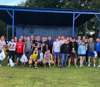 VII Turniej Piłki Plażowej Policjantów z Kujawsko-Pomorskiego - Połajewo 2021 [foto]