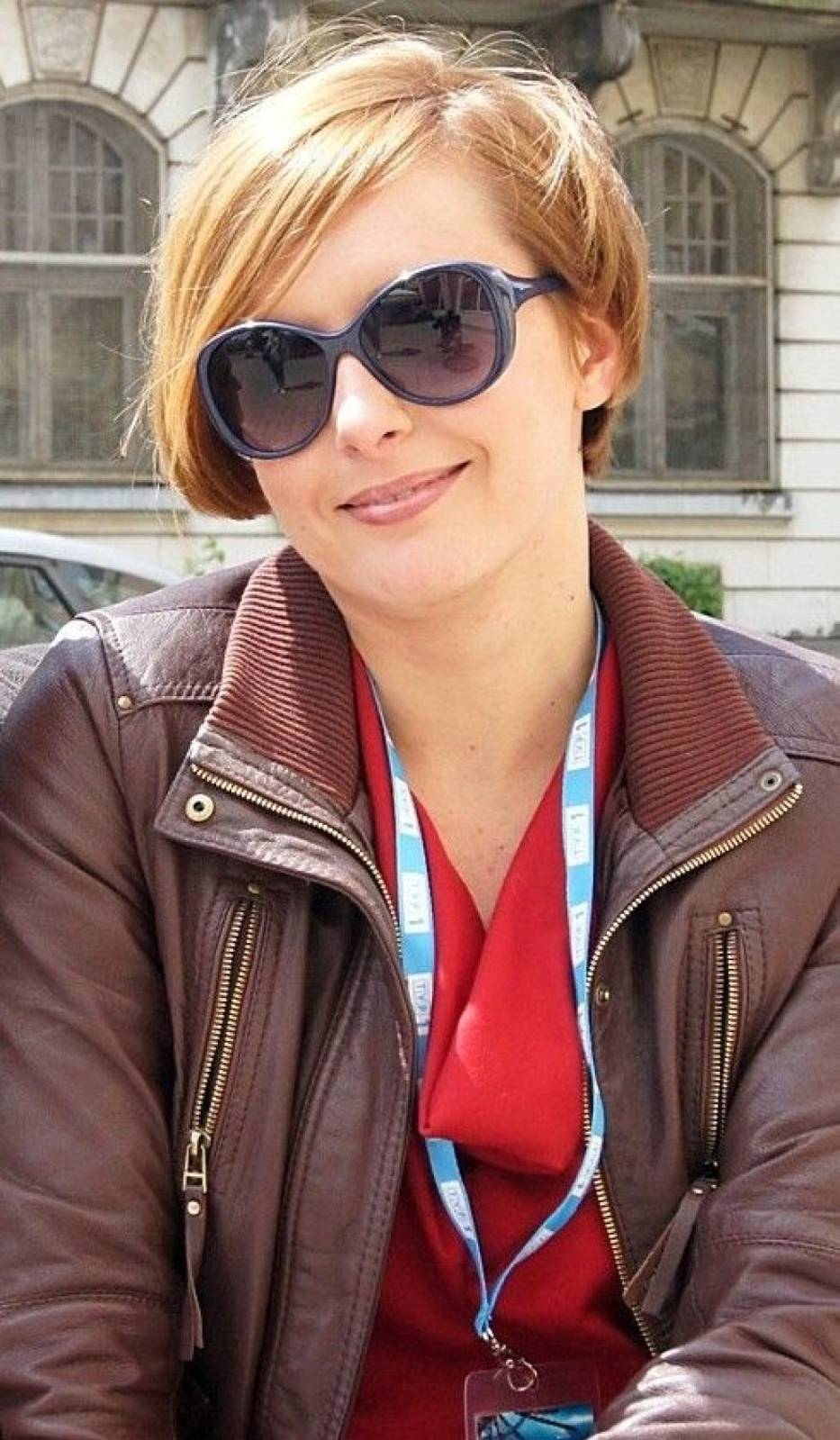 Monika Kuszyńska na Festiwalu Piosenki Polskiej w Opolu w 2012 r