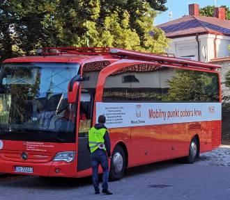 Trwa zbiórka krwi w Pińczowie. Można ją oddawać przy pińczowskim centrum kultury