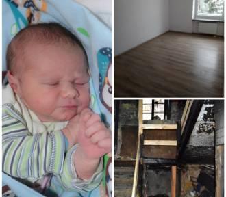 Noworoczne dziecko, jego rodzice i pięcioro rodzeństwa czekają na klucze do nowego mieszkania!
