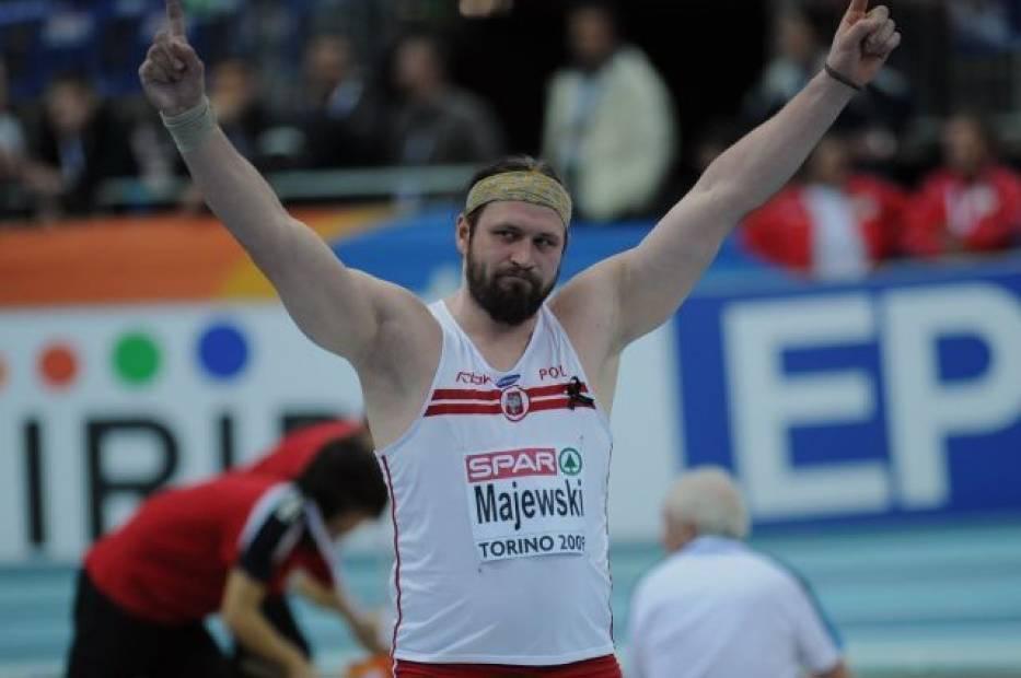 Tomasz Majewski jest jednym z faworytów do zdobycia pierwszego miejsca na podium
