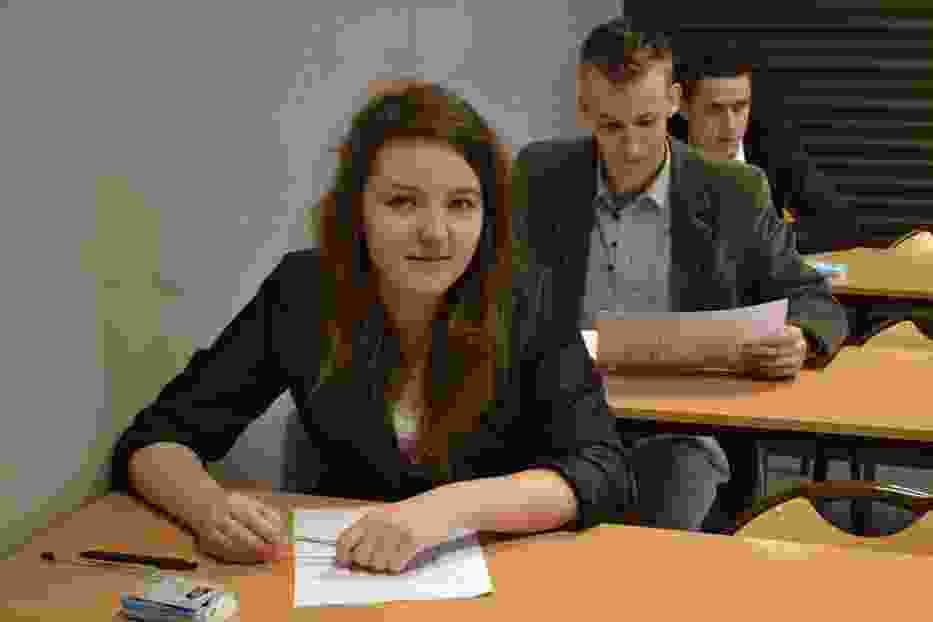 Próbna matura z języka obcego w ZSE w Wodzisławiu