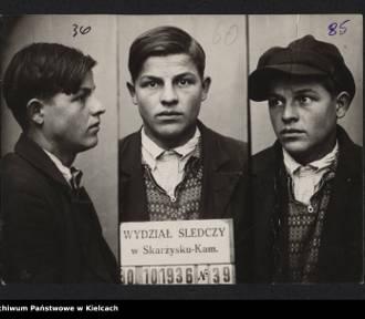 Stare zdjęcia przestępców z powiatu opoczyńskiego z początku 20. wieku