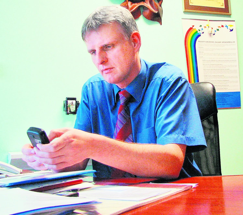 Wczoraj Marek Stalmach próbował umówić się z ZGM-em na spotkanie