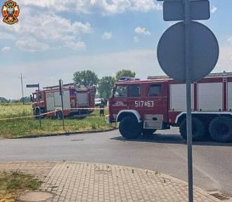 Koparka uszkodziła gazociąg. W Dobroszycach interweniowały służby!