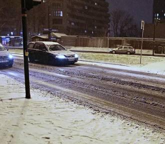 Atak zimy w Krakowie. Ulice jak lodowiska! [ZDJĘCIA]