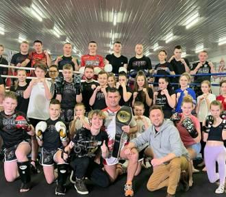 Ekipa telewizyjna odwiedziła Kaszubskie Centrum Sportów Walki