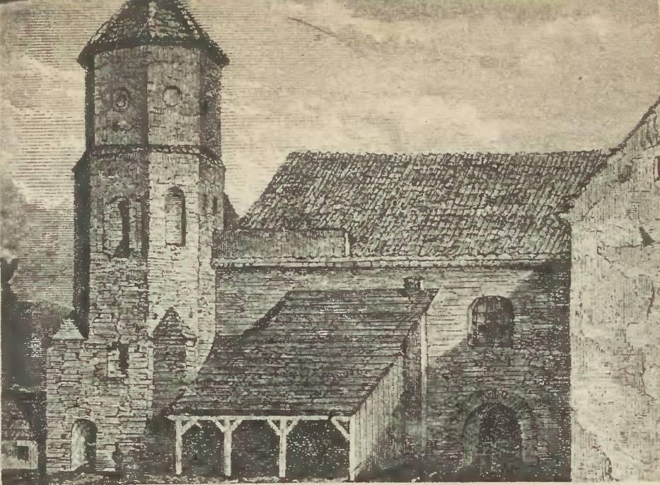 Szkic kościoła św