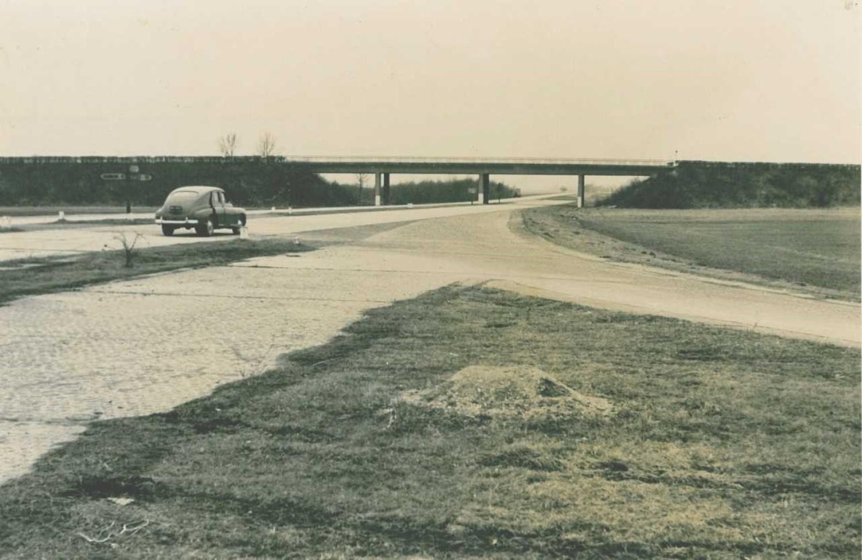 """Tak wyglądał opolski odcinek autostrady A4, zbudowany jeszcze """"za Niemca"""""""