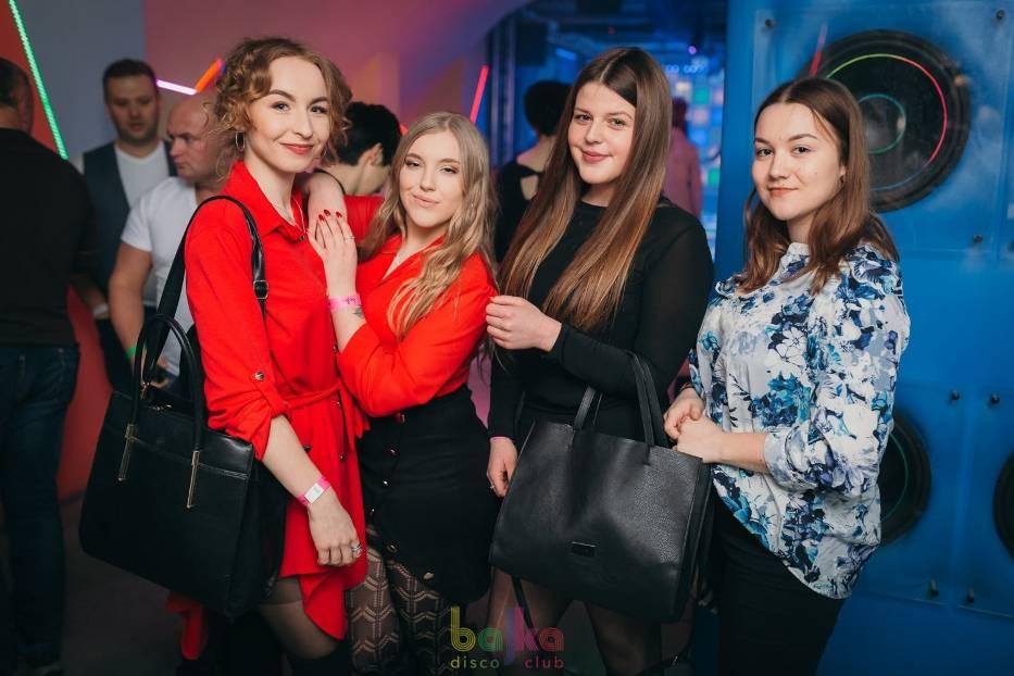 """W miniony piątek, 1 lutego, w Bajka Disco Club w Toruniu odbyła się impreza """"Kochamy wysokie szpilki"""""""