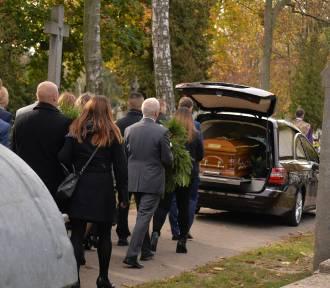 Pogrzeb 33-letniego Adama z Włocławka śmiertelnie potrąconego przez BMW w Warszawie [zdjęcia]