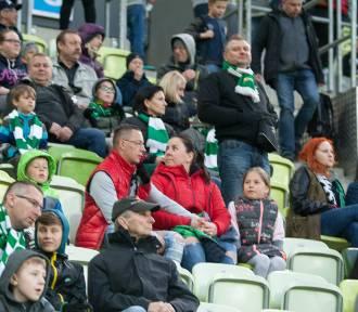 Lechia Gdańsk - Bruk-Bet Termalica Nieciecza. Kibice na trybunach Stadionu Energa Gdańsk. Znajdź