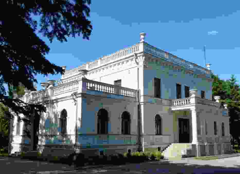 Pałac wzniesiono na Białych Błotach ok
