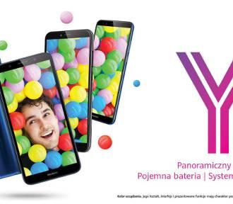 Huawei wprowadza smartfony z serii Y 2018 oferujące doskonałą wydajność, nowoczesne funkcje