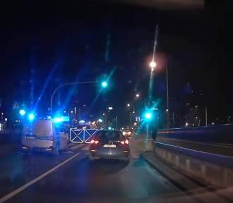 Śmiertelny wypadek na ulicy Matyi. Zobacz film z miejsca zdarzenia