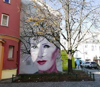 Mural Kory został zniszczony. Ktoś pomazał twarz artystki [ZDJĘCIA]