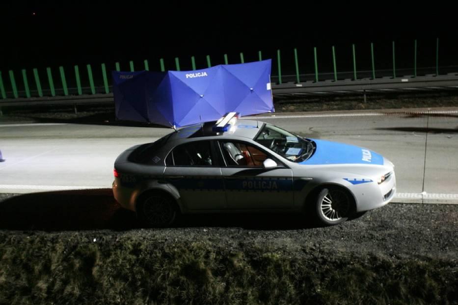 Śmiertelne potrącenie na autostradzie A4