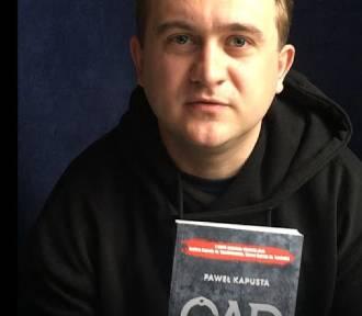 Spotkanie z Pawłem Kapustą w zduńskowolskiej bibliotece [FOTO i plakat]