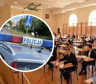 Matura 2020. Ktoś chciał przerwać egzamin maturalny we Włocławku!