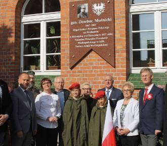 Odsłonięcie tablicy ku czci generała broni Józefa Dowbora-Muśnickiego w Krotoszynie [ZDJĘCIA]